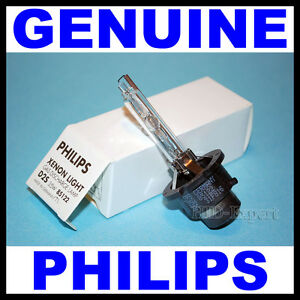 1pc PHILIPS D2S Xenon HID Bulb 85122 OEM Headlamp Authentic