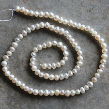 Fresh Water Pearl  Round Beads Strand,14.5, for crafting & jewelry