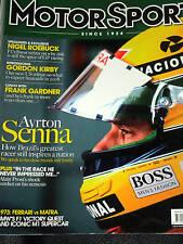 AYRTON SENNA FOUNDATION F1 IMOLA 1994 ALAIN PROST ON AYRTON SENNA MCLAREN HONDA