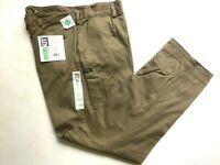 Workit All cotton mens workwear khaki long pants, Large sizes