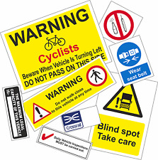 CROSSRAIL COMPLIANT STICKER SET (No Fresnel Lens)
