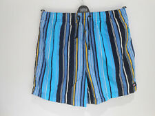 BNNT Marks & Spencer Blue Harbour striped swim shorts Small S NEW