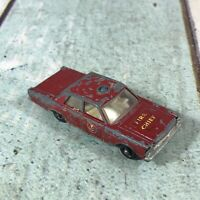 Matchbox Lesney Superfast No 55/59 Ford Galaxy Fire Chief - For Restoration