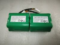 NEW OEM Neato 2 pack Batteries 7.2v 3200mAh XV-21 XV-11 xv-15 signature