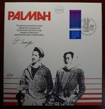 ISRAEL1992 PALMAH FDC PRESENTATION FOLDER SIGNED BY ARTIST ONLY 50 EXIST!