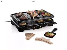 GRILL. Electric,  Silver Crest Raclette Grill, Boxed Unused