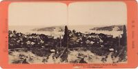 Costantinopoli Grecia & Foto di Turchia B.K. Parigi Stereo Vintage Albumina ca