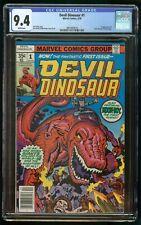 DEVIL DINOSAUR (1978) #1 CGC 9.4 1st APPEARANCE OF MOON-BOY & DEVIL DINOSAUR