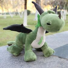35cm Dragon Green Dinosaur Plush Toy Stuffed Animals Dolls Collectible Kid Gifts