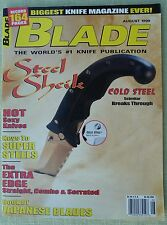 Rivista/magazine coltelli/lame ''Blade'' (AUGUST 1999)