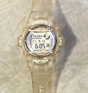 Casio Baby G Clear Resin BG-169R Women's Sports Watch NEW BATTERY