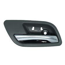 Inside Door Handle - Rear Left Driver - Gray/Titanium w/ Chrome Lever