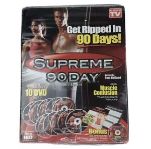 "TOM HOLLAND ""Supreme 90 Day System"" 10 DVD SET - ACCELERATE RESULTS ! HD New"