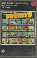 THE EVERLY BROTHERS Cassette Album - WALK RIGHT BACK WITH THE EVERLYS