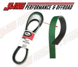 Gates Serpentine Belt for 03-12 Dodge Ram Truck 5.9 6.7 Cummins - 8 Groove Belt