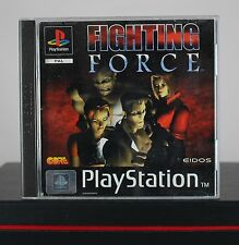 Fighting Force (Sony Playstation 1 / PS One / 1, 1997), komplett, sehr gut