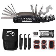 Kit de herramientas para bicicleta 16 en 1 multifunción con kit de parche NUEVO