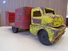 Vintage Structo Farm Barrel Truck, Vintage Tin Truck