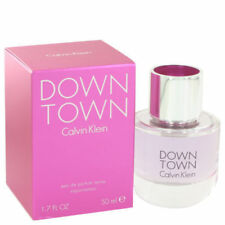 Down town by Calvin Klein for Women 1.7 OZ Eau De Parfum Spray New In Sealed Box