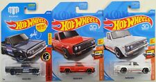 "2017 2018 Hot Wheels: MAZDA REPU Mad Mike ""Gray Red White"" - 1st Ed - 3 Car LOT"