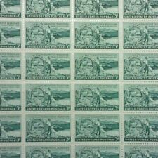 1953 Washington Territory, 3 Cent, MNH postage stamps, #1019
