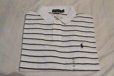 Ralph Lauren Men's White Polo Shirt Size L With Tags