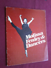 VINTAGE 1984 MOLISSA FENLEY & DANCERS THEATRE PORTUGAL PROGRAMME