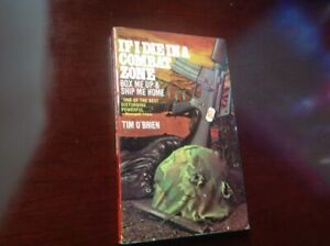 Vintage PB: If I Die in a Combat Zone by Tim O'Brien, 1973, 1st Dell Printing