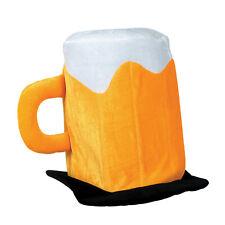 Plush Beer Mug Hat (Pack of 6)