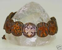 Bracelet Café Braun Classe Buddha Bracelet Travail Manuel s39