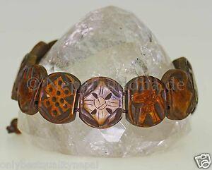 Bracelet Braun Luck Symbol Buddha Wrist Jewellery Handmade Luck s39