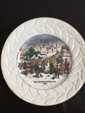 Coalport Christmas Plate