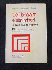 T. E F. BRIGANTI E ALTRI MINORI - A. Vallone - MILELLA 1983