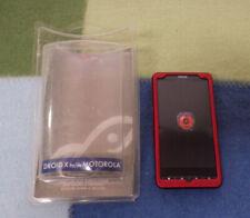 Rocketfish Motorola Droid X Phone Case Red Snap On Hard Cover New