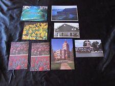Lot 8 Vintage Postcards-Orange City Iowa,Tulip Festival-Dutch Trolley-
