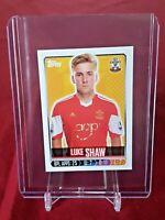 Luke Shaw Manchester United Southampton Merlin Premier League Rookie Sticker