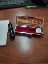 New Original Japanese name stamp/HANKO seal KANJI with case & ink pad