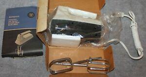 VINTAGE WESTINGHOUSE PORTABLE MIXER MODEL HM 06 ORIG BOX UNUSED