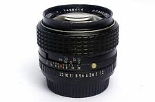SMC Pentax 50mm f/1.2 Manual Focus Lens