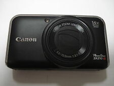 LikeNew Canon Powershot SX210 Digital Camera - 14x Zoom