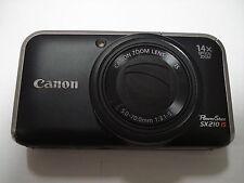 LikeNew Canon Powershot SX210 Digital Camera - 14x Zoom