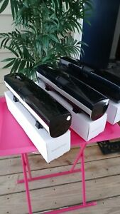 Lot of 3 BLACK Wrapmaster WM 1800 Foil, Wrap, Plastic Paper Dispensers Master XZ