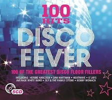 100 HITS-disco fever NEW Digipack edition 5 CD NUOVO Heatwave/Bobby Womack