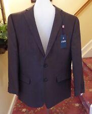 NEW Ralph Lauren CHAPS Dark Brown  Sport Coat Jacket 44 Reg  NWT $175.