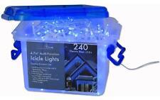 Icicle Christmas Lights , Multifunction 240 Blue LED Bulbs Xmas Decoration