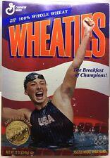 1996 Olympics Wheaties USA Swimmer Amy Van Dyken Sealed Gold Medal Box Full