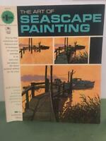 Grumbacher Vtg Art of Seascape Painting 1966 How To Instruction Book 40004 Exc