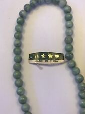Genuine,undyed jadeiteJade bead  7 inch bracelet approximately  7 inches total