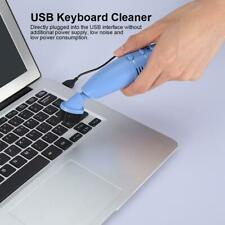 Mini Portable Computer Laptop Keyboard USB Vacuum Cleaner Brush Dust Cleaning