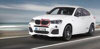 New Genuine BMW X3 F25 X4 F26 Front Left Kidney M Performance Grill 2337762 FEO
